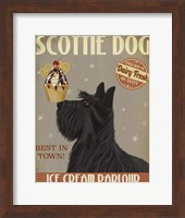 Scottish Terrier Ice Cream Fine-Art Print