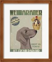Weimaraner Ice Cream Fine-Art Print