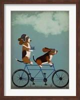 Basset Hound Tandem Fine-Art Print