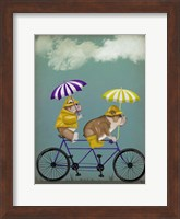 English Bulldog Tandem Fine-Art Print
