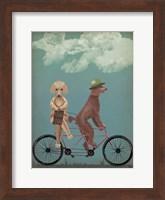 Poodle Tandem Fine-Art Print