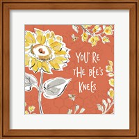 Bee Happy II Spice Fine-Art Print