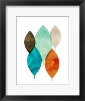 Mod Leaves I Fine-Art Print