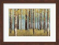 Teal Birch Fine-Art Print