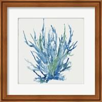 Blue and Green Coral II Fine-Art Print