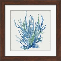 Blue and Green Coral II Fine-Art Print