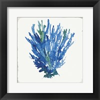 Blue and Green Coral III Fine-Art Print
