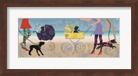 Stroller Dogs II Fine-Art Print
