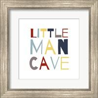 Little Man Cave Primary Color Palette Fine-Art Print