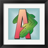 A is for Alligator Fine-Art Print