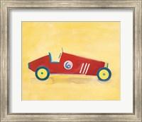 Race Car 6 Crop Fine-Art Print