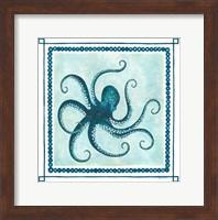 Octopus II Frame Fine-Art Print