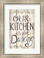 Kitchen is for Dancing Fine-Art Print