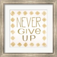 Never Give Up Fine-Art Print