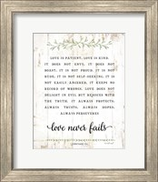Love Is Patient Fine-Art Print