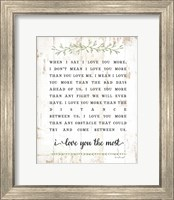 I Love You More Fine-Art Print