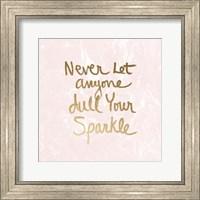 Sparkle - Blush Marble Fine-Art Print
