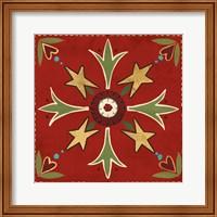 Festive Tiles III Fine-Art Print