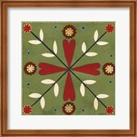 Festive Tiles II Fine-Art Print