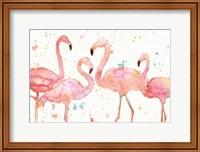 Flamingo Fever I Fine-Art Print