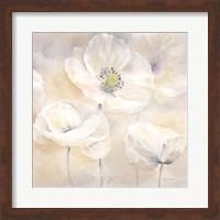 White Poppies I Fine-Art Print