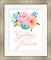 Flowers in Full Bloom I Fine-Art Print
