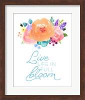 Flowers in Full Bloom II Fine-Art Print