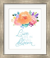 Flowers in Full Bloom II Fine-Art Print