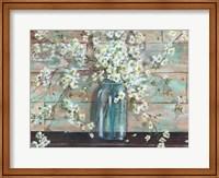 Blossoms in Mason Jar Fine-Art Print