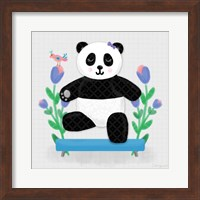 Tumbling Pandas I Fine-Art Print