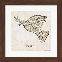 Vintage Christmas Peace Fine-Art Print
