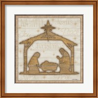 Rustic Nativity Fine-Art Print