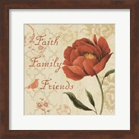 Faith Family Friends Sq Fine-Art Print