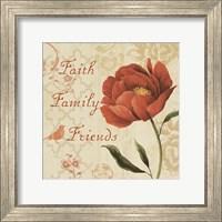 Faith Family Friends Sq Fine-Art Print