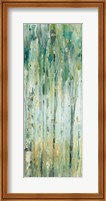 The Forest VIII with Teal Fine-Art Print