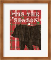 Simple Living Holiday Bear Fine-Art Print