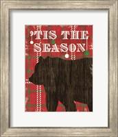 Simple Living Holiday Bear Fine-Art Print
