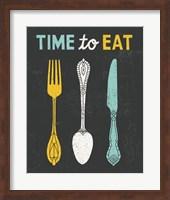 Retro Diner Time to Eat Fine-Art Print