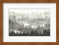Mountainscape Silver Fine-Art Print