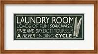 Laundry Room I Fine-Art Print