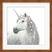 Spirit Unicorn II Square Fine-Art Print
