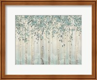 Dream Forest I Silver Leaves Fine-Art Print