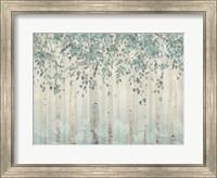 Dream Forest I Silver Leaves Fine-Art Print