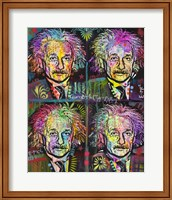 Einstein 4 up Fine-Art Print