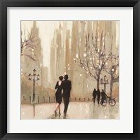 An Evening Out Neutral Square Fine-Art Print