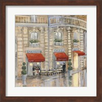 Touring Paris Couple II Fine-Art Print