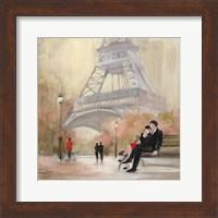 Romantic Paris I Red Jacket Fine-Art Print