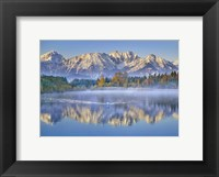 Allgaeu Alps and Hopfensee lake, Bavaria, Germany Fine-Art Print