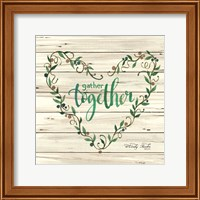 Gather Together Heart Wreath Fine-Art Print