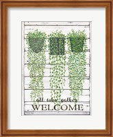Ivy Welcome All Who Gather Fine-Art Print